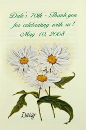 Daisy Birthday Party Seed Favor