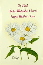 Daisy Church Seed Favor