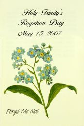 Forget Me Not Church Celebration Seed Packet