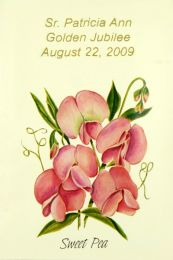 Sweet Pea Church Seed Favor