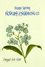 Forget Me Not Corporate Seed Packet