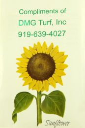 Sunflower Corporate Seed Packet