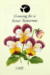 Violet Corporate Seed Packet