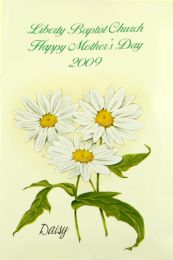 Mother's Day Daisy Seed Packet